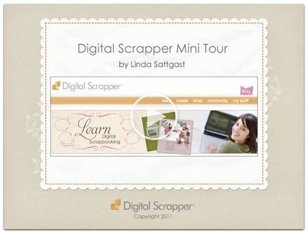 Digital Scrapper Mini Tour
