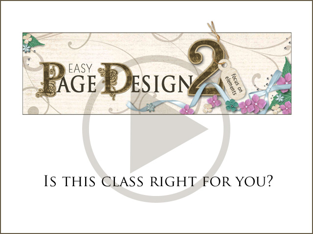 Easy Page Design 2: Is It Right for You? Video