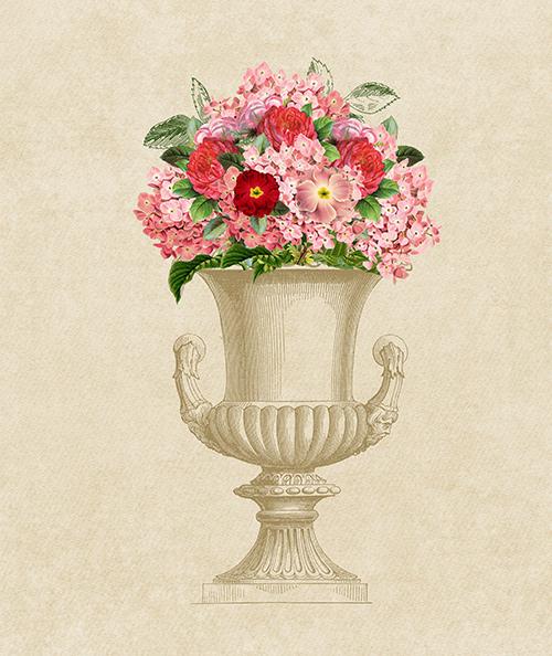 Digital Scrapper Video Tutorials: Vintage Flower Clusters