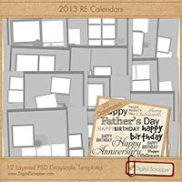 2013 RE Calendars - Templates & Datemates