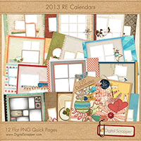 2013 RE Calendars - Quickpages & Datemates