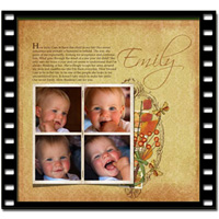 Folded Photo Frame Video Tutorial