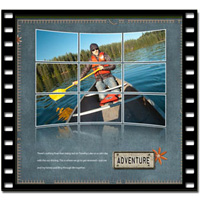 Curved Photo Grid Video Tutorial