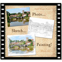 Photo...Sketch...Painting Video Tutorial
