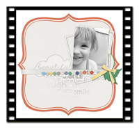Designer Scrapbook Pages - The Bracket Box Video Tutorial