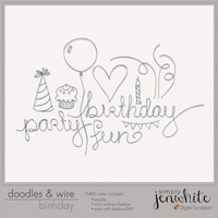 Doodles & Wire � Birthday