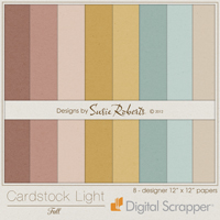Cardstock Light - Fall