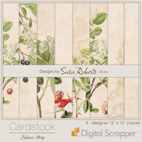 Cardstock - Nature Strip