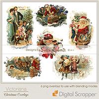 Victoriana - Christmas Overlays