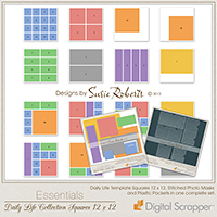 Daily Life Collection Squares 12 x 12