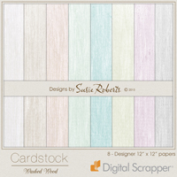 Cardstock - Washed Wood