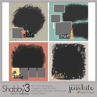 Shabby Templates #3�12x12
