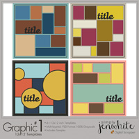 Graphic Templates #1�12x12