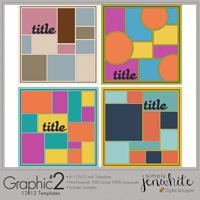 Graphic Templates #2�12x12