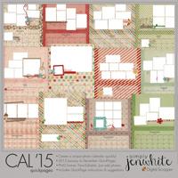 "2015 Calendar QuickPages 11"" x 8.5"""