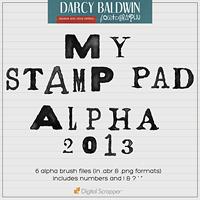 My Stamp Pad Alpha