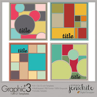 Graphic Templates #3�12x12