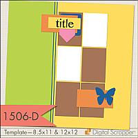 1506-D Templates