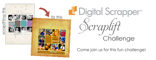 Digital Scrapper Scraplift Challenge