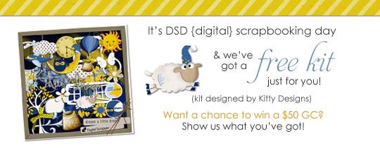 Happy DSD (Digital Scrapbooking Day)!