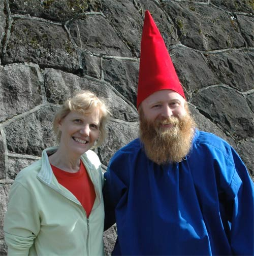 Linda and the Gnome Portrait