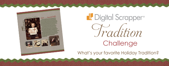 Digital Scrapper Tradition Challenge