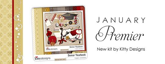 January Digital Scrapper Premier