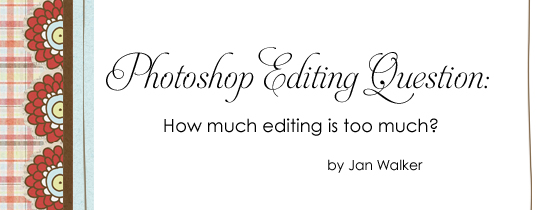 The Photoshop Editing Question