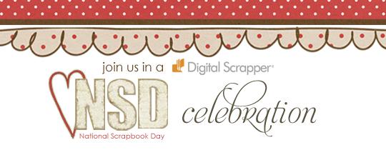 National Scrapbook Day {NSD} 2011