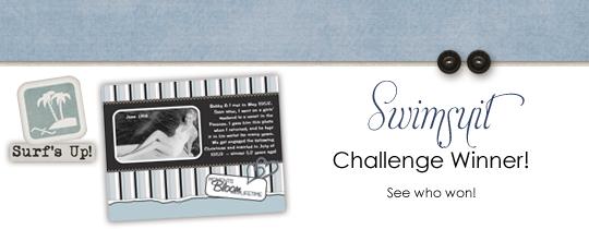 Swimsuit Challenge Winner
