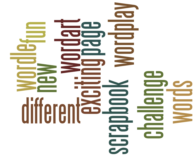 Wordle Challenge – Digital Scrapper Blog