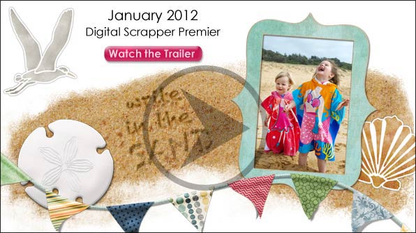 January 2012 Digital Scrapper Premier Issue