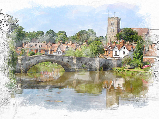 Aylesford Watercolor