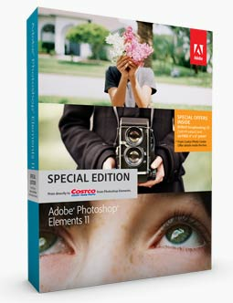 Photoshop Elements 11 Box Cover