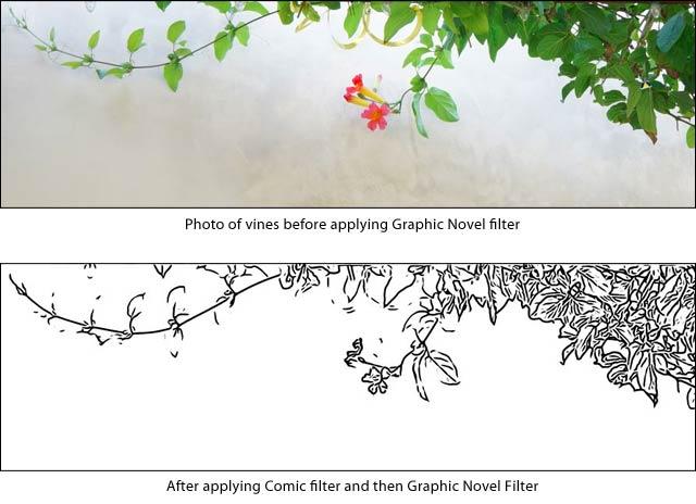 Graphic Novel Filter
