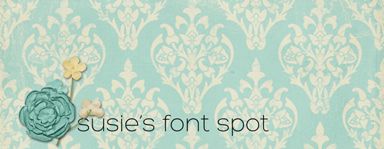 Susie's Font Spot | May 2013 | Free Fonts, Free Download