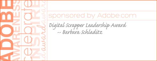 Adobe Awareness Leadership Award—Barbara Schladitz