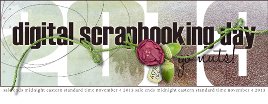 Digital Scrapbooking Day 2013