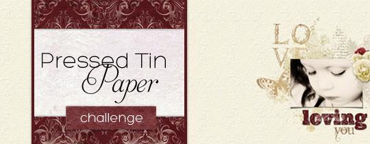 Pressed Tin Paper Challenge