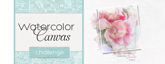Watercolor Canvas Challenge