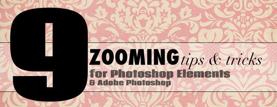 9 Zooming Tips for Adobe Photoshop Elements