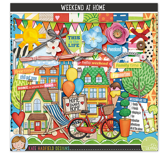 Weekend At Home by Kate Hadfield