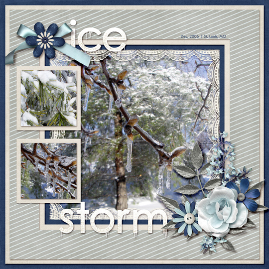 Below Freezing Challenge @ Digitalscrapper.com