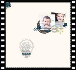 Three Cluster Page Design by Barb Brookbank