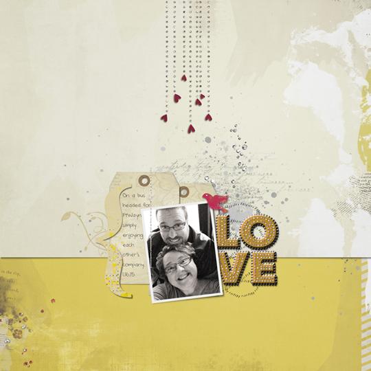 Page & Photo: Jen White | Kit: Live, Love by Kitty Design | Font: DJB ANNALISE 2011