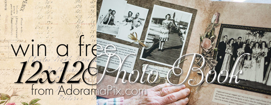 Win a FREE 12×12 Photo Book