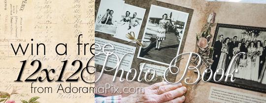Win a FREE 12×12 Photo Book