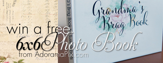 Win a FREE 6×6 Photo Book
