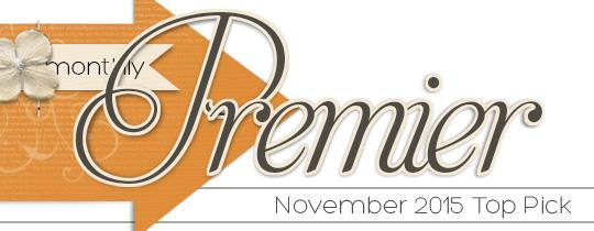 Premier Top Pick—November 2015