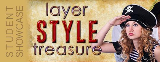 Layer Style Treasure—Student Showcase